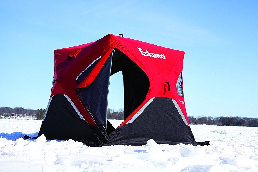 Eskimo FF949 FatFish Pop-up Portable Ice Shelter Review